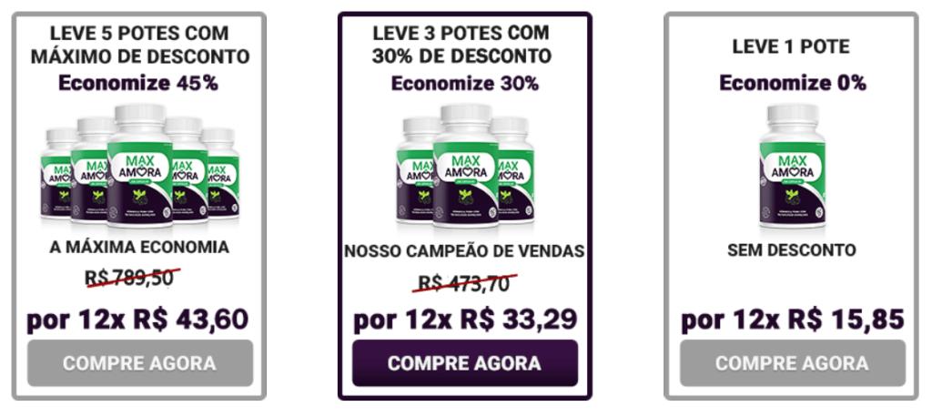 Max Amora Funciona Composição Bula Preço E Onde Comprar