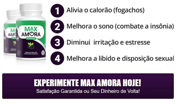 Max Amora Funciona? Composição, Bula, Preço, e Onde Comprar!