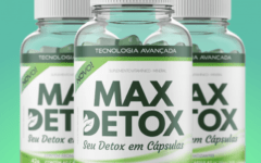 Max Detox Funciona? Cápsulas que Secam a Gordura!